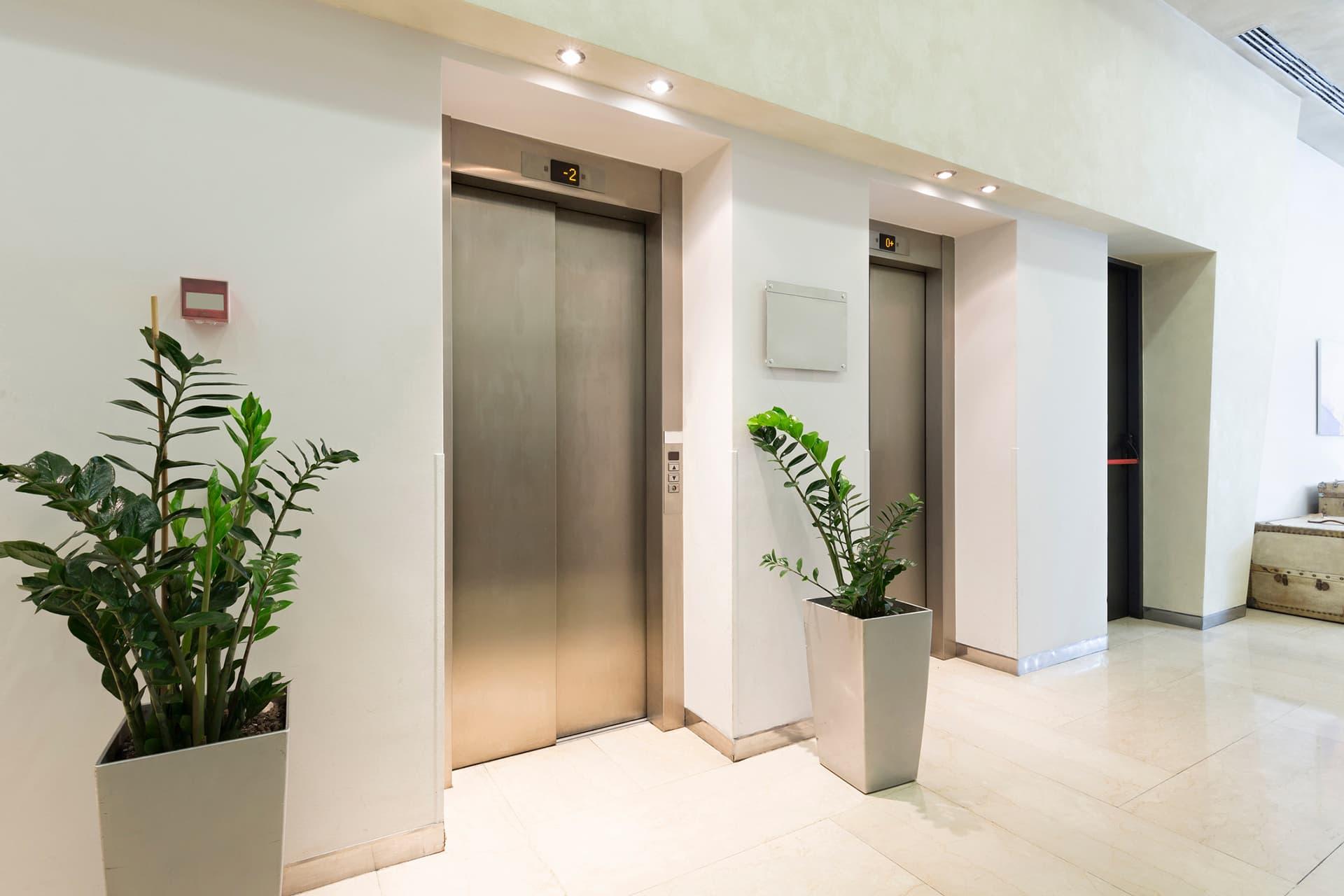 مصعد موديل